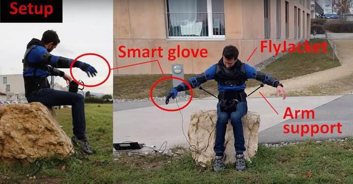 Vücudunuzla drone kontrol etmek ister misiniz? İşte yeni