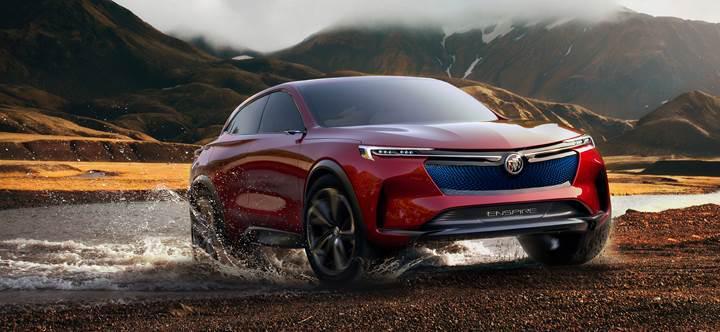 Buick, 600 km menzilli Enspire SUV konseptini tanıttı