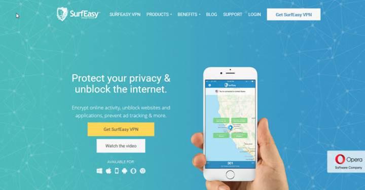 Opera'nın ücretsiz VPN uygulaması 30 Nisan'da kapanacak