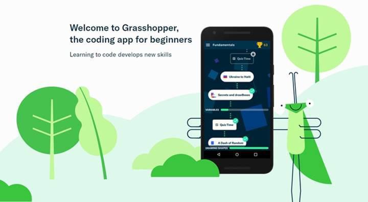 JavaScript öğrenmek isteyenlere Google'dan oyun: Google Grasshopper