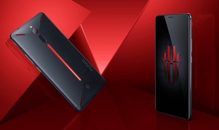 ZTE'nin 8 GB RAM'li oyuncu telefonu Nubia Red Magic resmen tanıtıldı