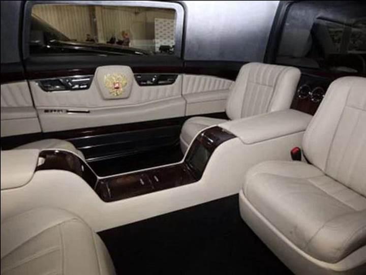 Vladimir Putin'in zırhlı limuzini güvenlik testlerinden geçti