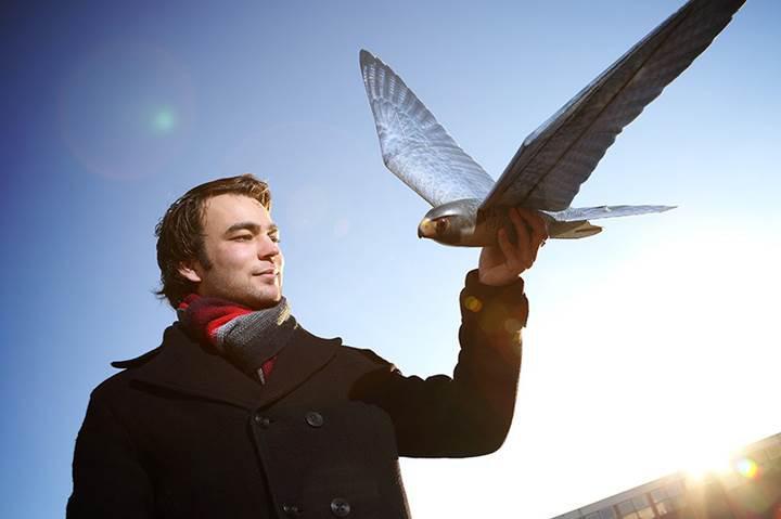 Havalimanlarında kuş tehlikesine çözüm: Kartal görünümünlü drone