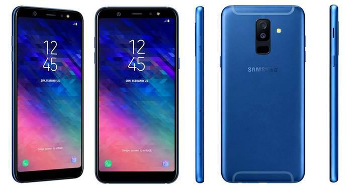 Samsung Galaxy A6 ve Galaxy A6+ modellerinin basın görselleri sızdırıldı