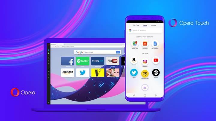 Opera daha kullanışlı dediği yeni tarayıcısı Opera Touch'ı duyurdu