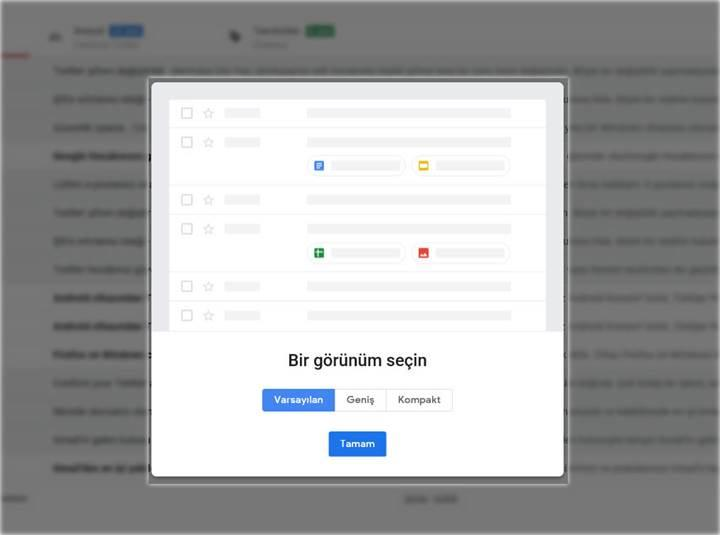 Gmail'in yeni sürümüne hemen nasıl geçilir?