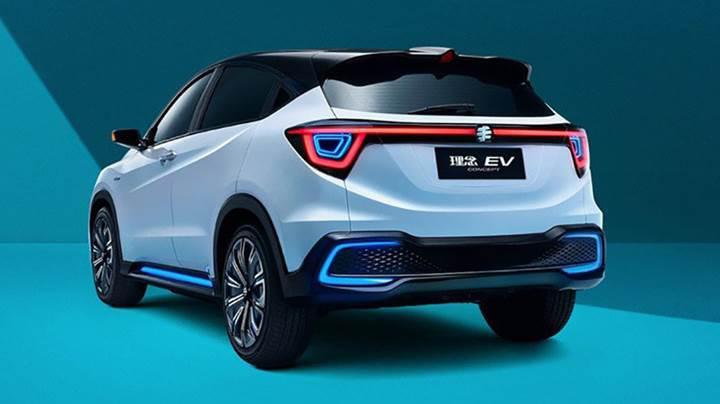 Honda'nın elektrikli Everus EV Concept'i Pekin'de görücüye çıktı