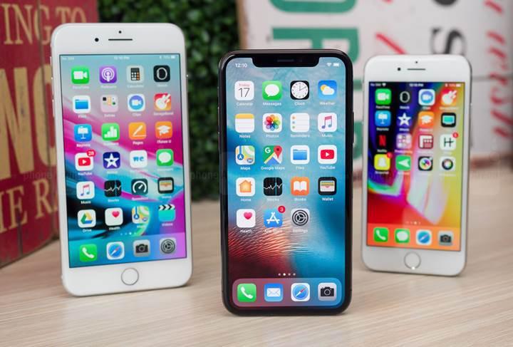 iPhone 8 ve iPhone 8 Plus, satış rakamlarında iPhone X'u geride bıraktı