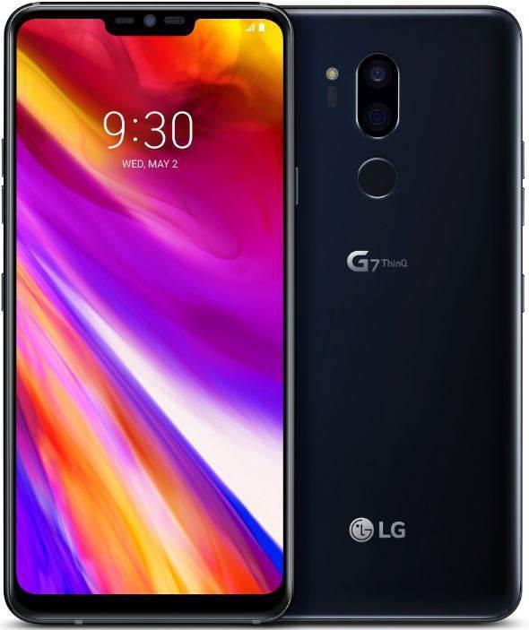 LG G7 ThinQ ilk defa siyah renk seçeneğiyle görüntülendi