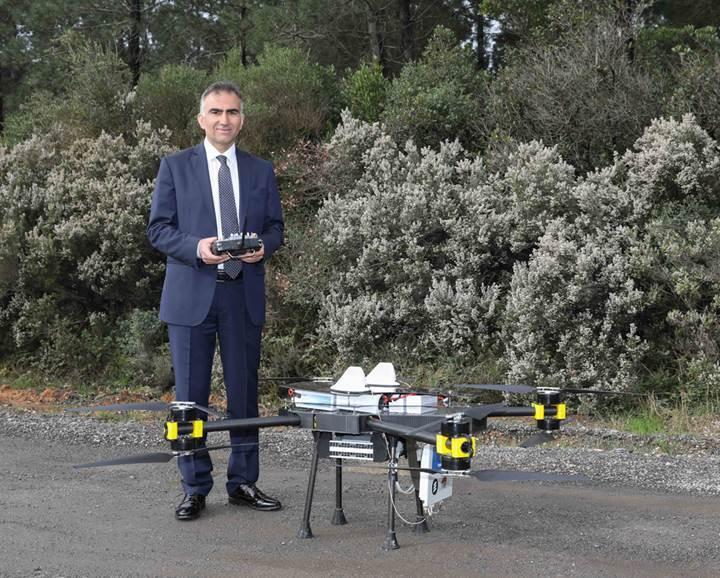Uçan baz istasyonu Dronecell, doğal afetlerde kullanılacak