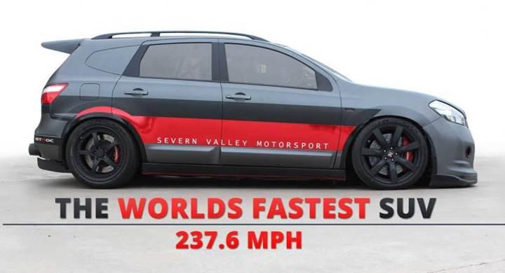 2000 beygirlik Nissan Qashqai, en hızlı SUV olmaya aday