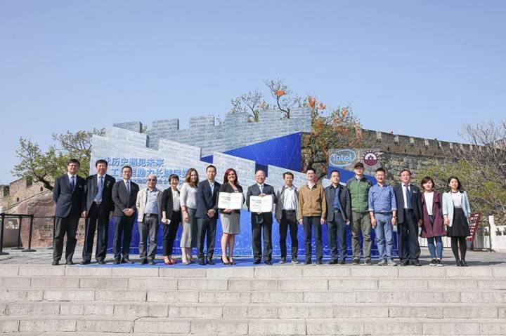 Çin Seddi'nin restorasyonunda Intel'in drone ve yapay zeka teknolojisi kullanılacak