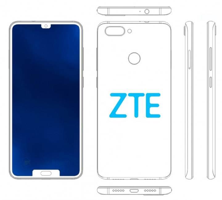 ZTE, bir başka çift çentikli akıllı telefon patenti daha aldı