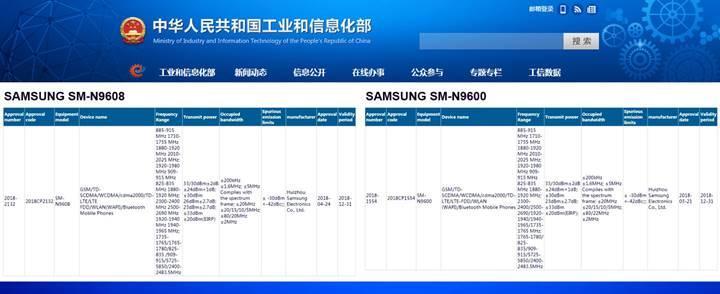Samsung Galaxy Note 9, üç farklı donanım seçeneği ile geliyor