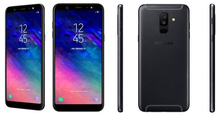 Samsung Galaxy A6 serisi resmi sayfada listelendi