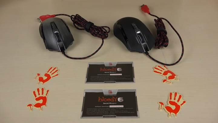 Bloody P93 Gaming Mouse ve MP-60R Mousepad Test Masamızda