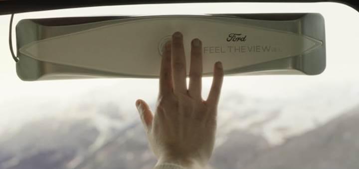 Ford'dan görme engelliler için anlamlı çalışma: Akıllı cam prototipi