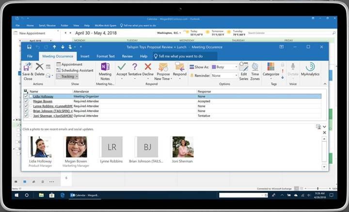 Microsoft, PC, iOS ve Android için Outlook uygulamalarına yeni özellikler ekliyor
