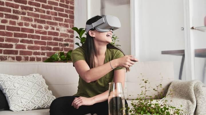 Oculus Go sanal gerçeklik başlığı 199 dolar fiyatla satışa sunuldu
