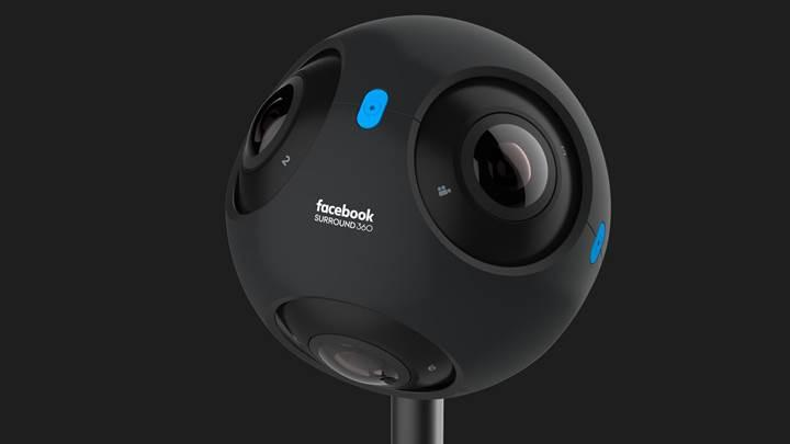 Facebook ve RED profesyonel bir sanal gerçeklik kamerası geliştiriyor