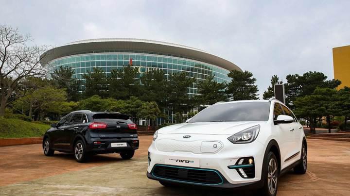 Kia Niro elektrikli crossover, 380 km menzili ile tanıtıldı