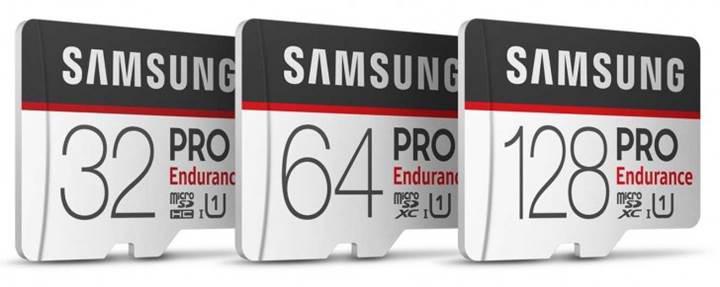 Samsung'dan yeni PRO Endurance hafıza kartları