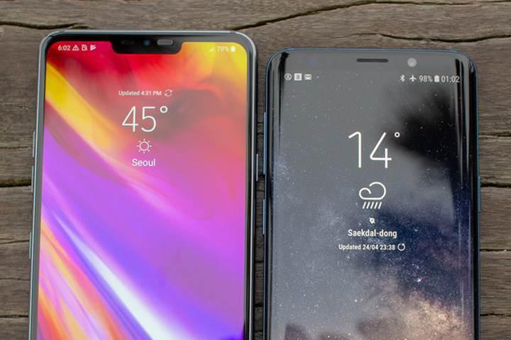 LG G7 ThinQ vs Galaxy S9 Plus karşılaştırması