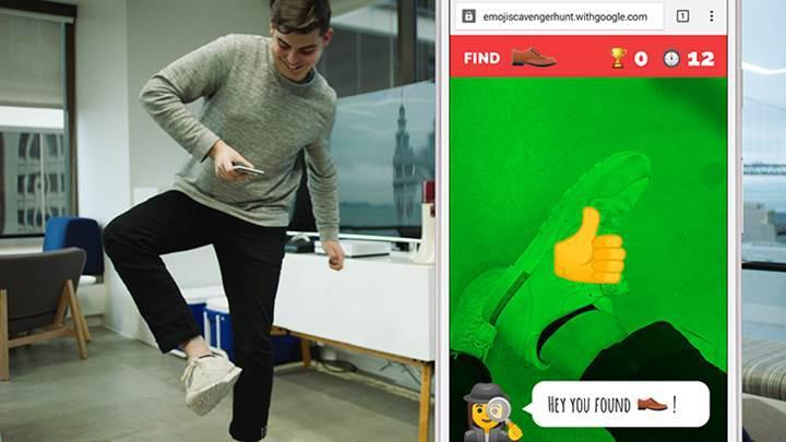 Google, yapay zeka tabanlı Emoji Scavenger Hunt isimli oyununu duyurdu