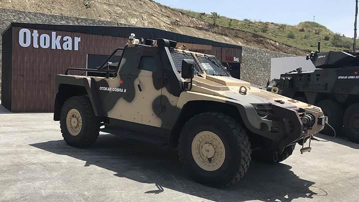 Otokar'ın yeni zırhlı aracı Efes 2018'de görücüye çıkacak