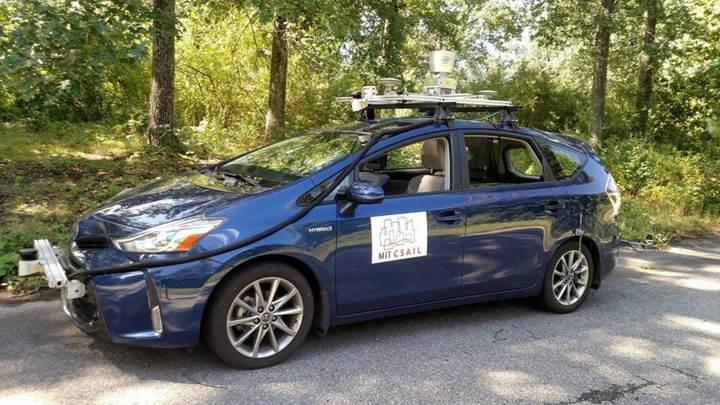 MIT'den harita ve şerit işaretlerine gerek duymayan sürücüsüz otomobil teknolojisi