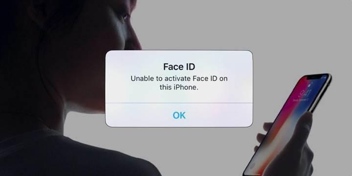 iPhone X Face ID sorunu