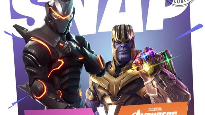 Thanos, kısa bir süreliğine Fortnite'a konuk oluyor