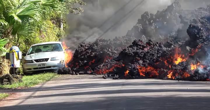 Kilauea Yanardağı'nın patlaması sonucu tatil cenneti Hawaii cehenneme döndü [Video]
