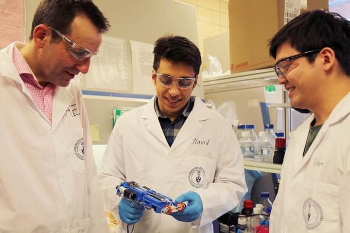 Yanık ve yara tedavisinde devrimsel buluş: Taşınabilir 3D deri yazıcısı