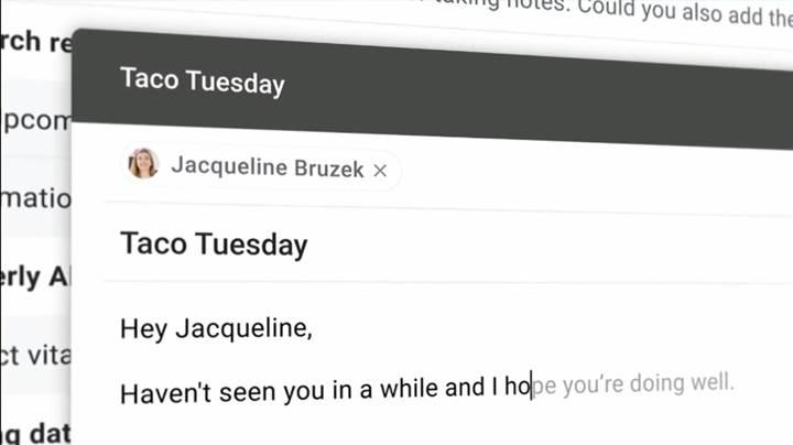 Gmail, akıllı cümle tamamlama özelliğine kavuştu