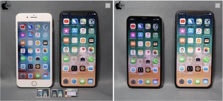 Yeni iPhone X Plus, iPhone 8 Plus boyutlarında olacak