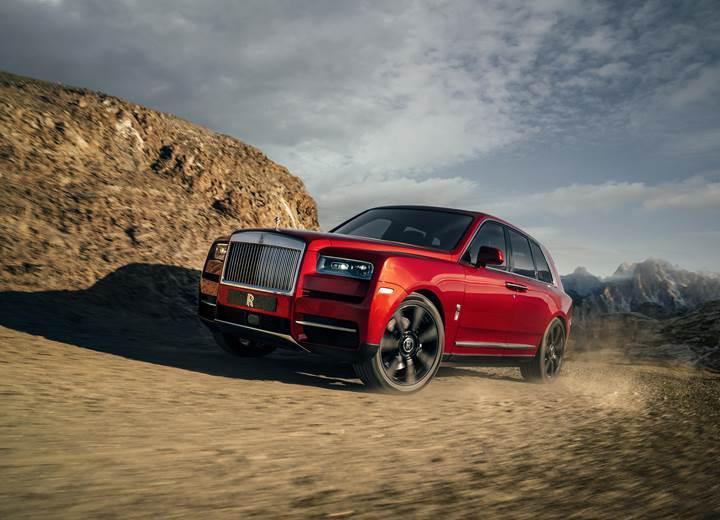 Rolls-Royce Cullinan üzerindeki örtü nihayet kalktı