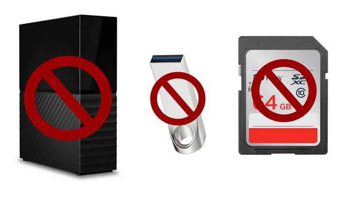 IBM çalışanlarının çıkarılabilir depolama aygıtı kullanmaları yasaklandı