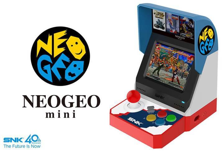 Bir dönemin popüler Neo Geo oyun kabini masanıza geliyor