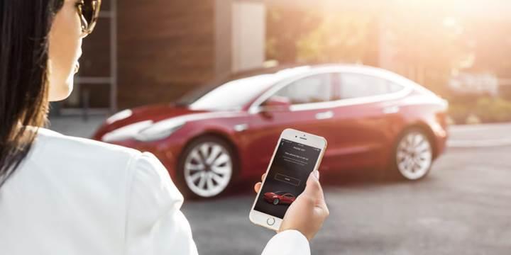 Tesla Model 3'teki anahtarsız giriş özelliği Model S ve Model X'e de geliyor