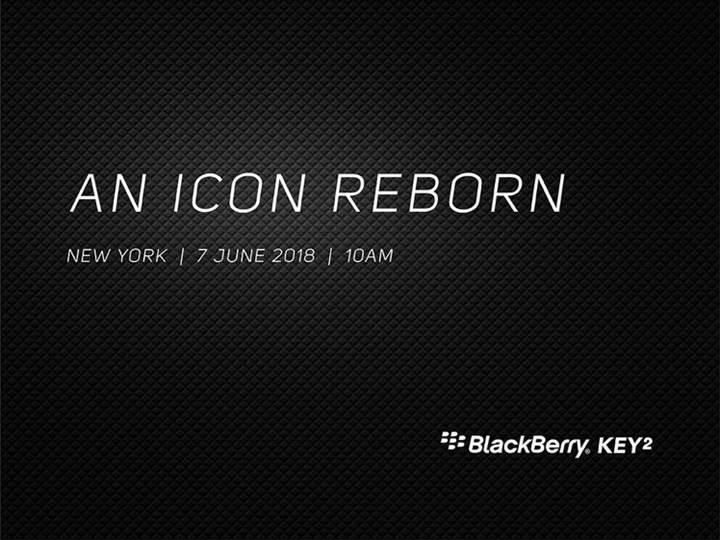 BlackBerry KEY2'nin tanıtım tarihi belli oldu