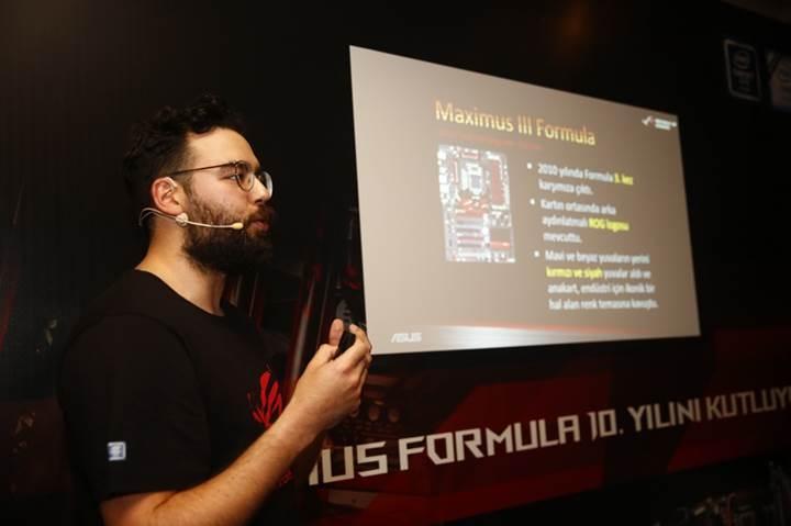Asus ROG Maximus Formula 10. yıl kutlamaları İstanbul'dan başladı