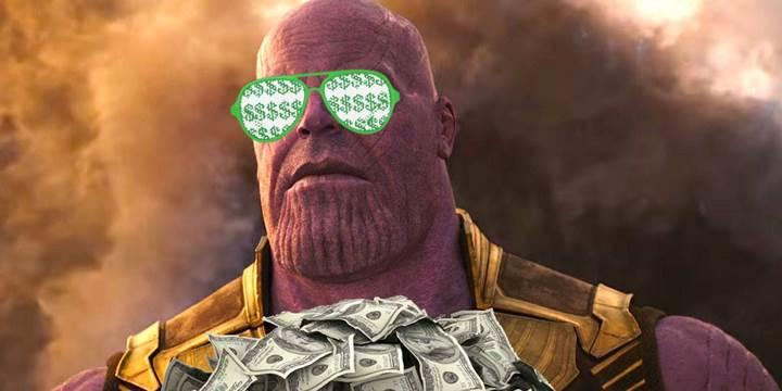 avengers infinity war hasılat besinci