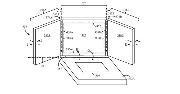 Lenovo katlanabilir ekranlı bir dizüstü bilgisayarın patentini aldı
