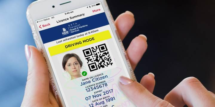 Avustralya'da bir eyalet daha dijital ehliyet uygulamasına geçiyor