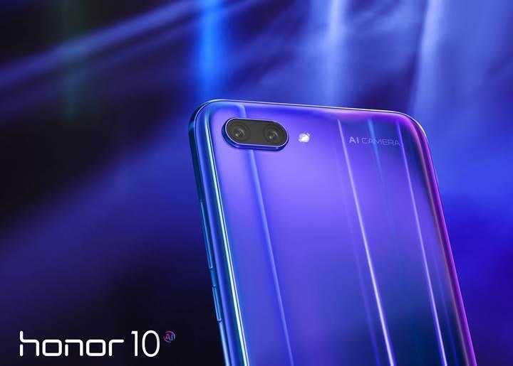 Honor 10 tanıtıldı! Honor 10 özellikleri ve fiyatı