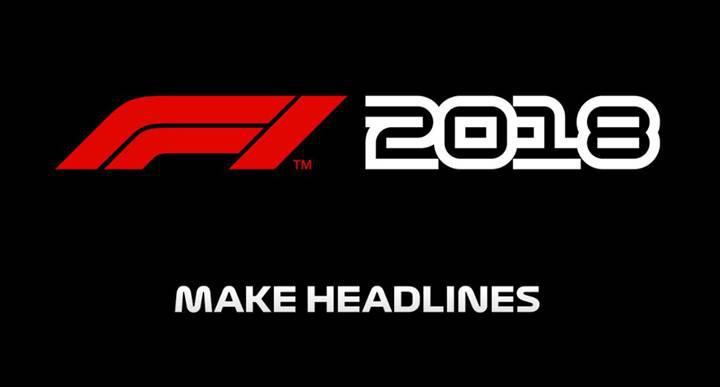 F1 2018'in çıkış tarihi açıklandı
