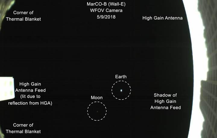 NASA, Dünya'yı 1 milyon kilometre uzaklıktan işte böyle görüntüledi