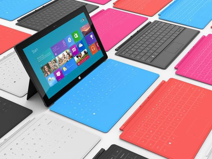 Microsoft, uygun fiyatlı Surface tablet için düğmeye bastı