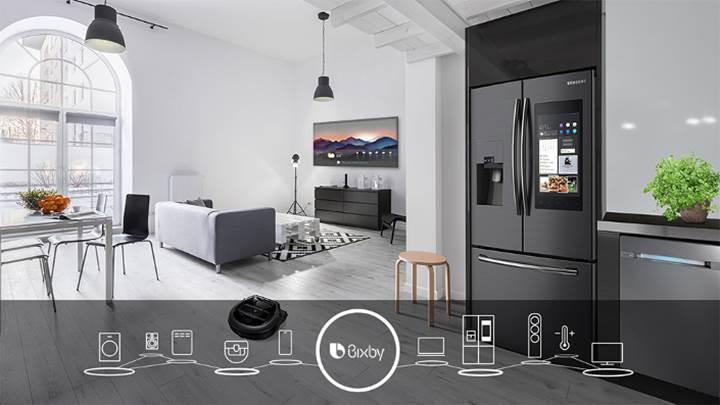 Samsung'un sanal asistanı Bixby bu yıl robot süpürgelere ve fırınlara geliyor